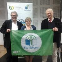Przyznanie certyfikatu Zielona Flaga